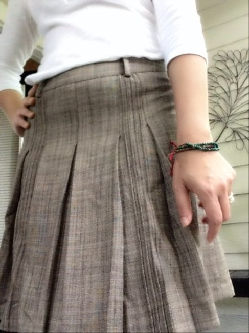 The Limited Skirt Brown With Texture