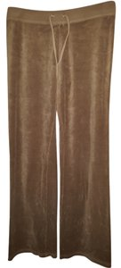 Juicy Couture Athletic Pants Light Brown / Toffee