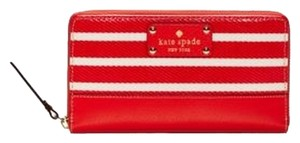 Kate Spade Wristlet in Empire Red / Cream