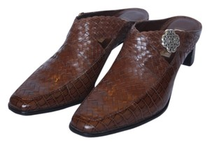 Brighton Leather Mules Brown Boots