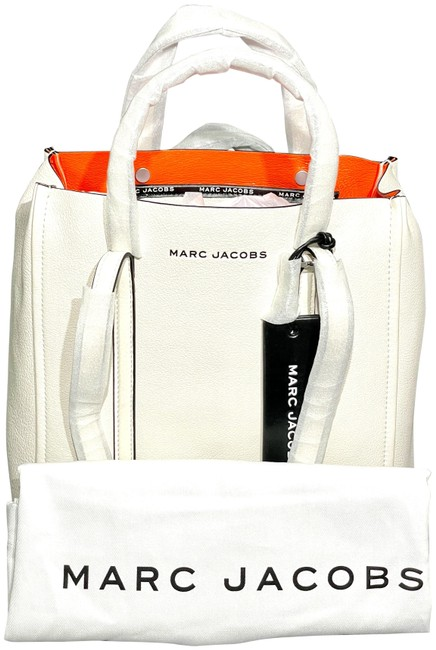 Item - The Tag 27 Porcelain White Leather Tote