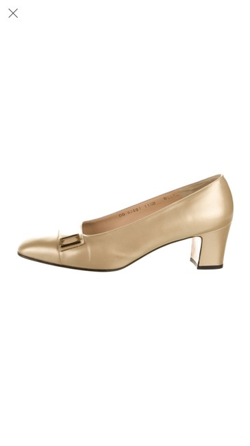 Item - Gold 0000 Flats Size US 11.5 Regular (M, B)