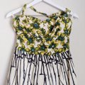 Anthropologie Yellow Girls From Savoy Burgeoning Hypericum Mid-length Cocktail Dress Size 8 (M) Anthropologie Yellow Girls From Savoy Burgeoning Hypericum Mid-length Cocktail Dress Size 8 (M) Image 5