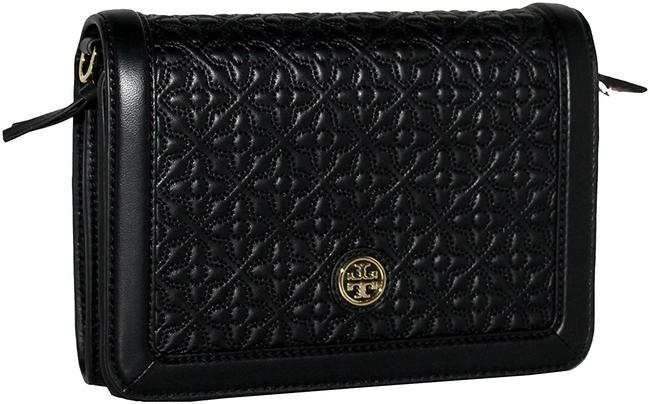 Item - Bryant 18169684 - Quilted Combo Black Leather Cross Body Bag