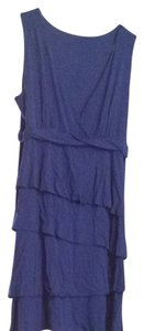 New York & Company short dress Blue on Tradesy