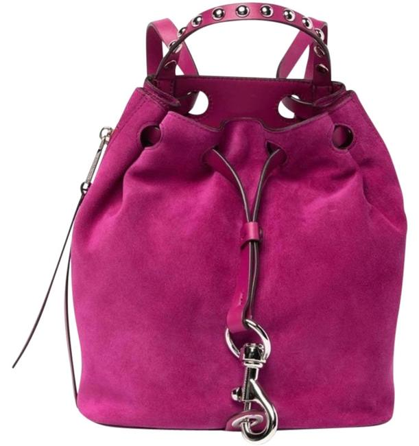Item - Blythe Small Pink Suede Leather Backpack