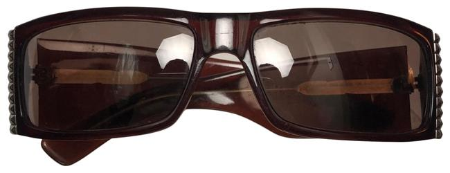 Item - Burgundy Vintage Square Sunglasses