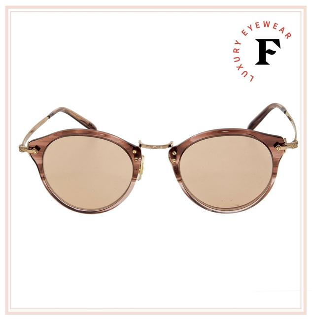 Item - Rose Gold Coral Op-505 30th 18k Plated Ov5184 47mm Sunglasses