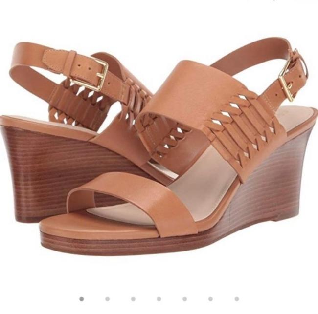 Item - Brown Paiva Grand Sandal Wedges Size US 10 Regular (M, B)