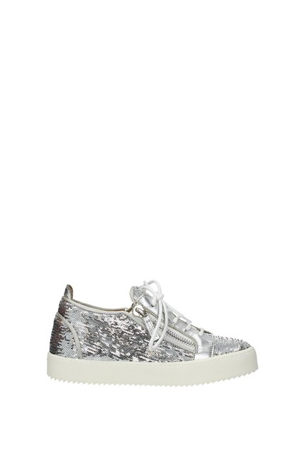 Item - Silver May London Women Sneakers Size EU 39.5 (Approx. US 9.5) Regular (M, B)