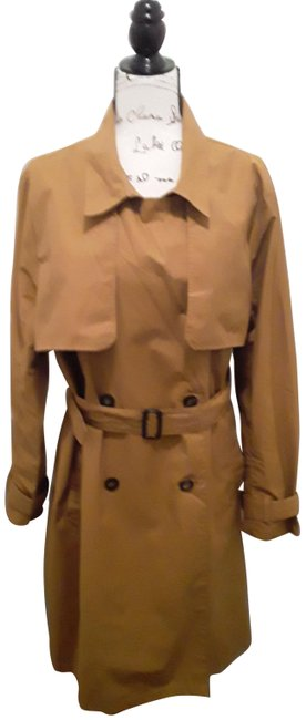 A New Day Dark Tan Double-breasted Coat Size 18 (XL, Plus 0x) A New Day Dark Tan Double-breasted Coat Size 18 (XL, Plus 0x) Image 1