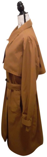 A New Day Dark Tan Double-breasted Coat Size 18 (XL, Plus 0x) A New Day Dark Tan Double-breasted Coat Size 18 (XL, Plus 0x) Image 2