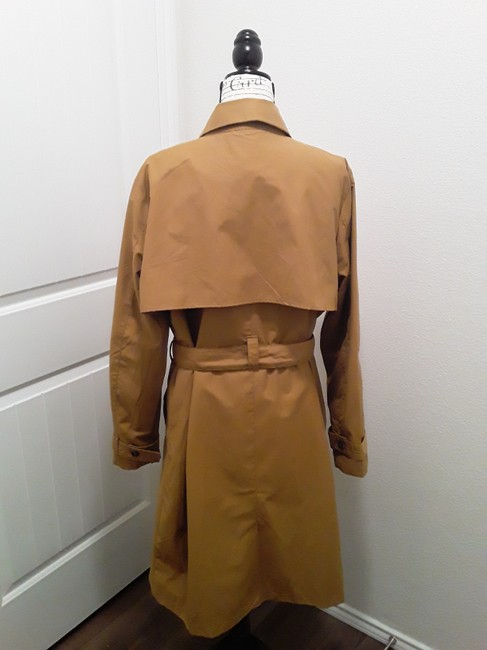 A New Day Dark Tan Double-breasted Coat Size 18 (XL, Plus 0x) A New Day Dark Tan Double-breasted Coat Size 18 (XL, Plus 0x) Image 4