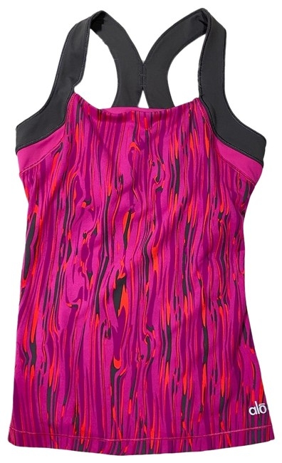 """Item - Pink Synergy Print """"Nwt"""" Activewear Top Size 4 (S)"""