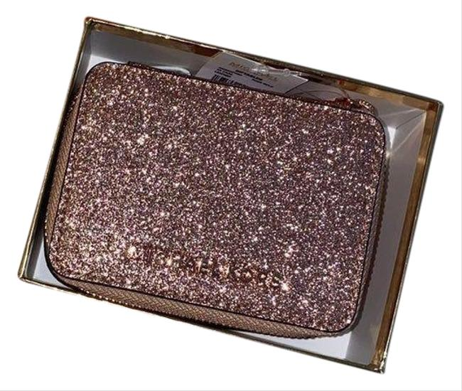 Item - Rose Gold Box Glitter Pill Case