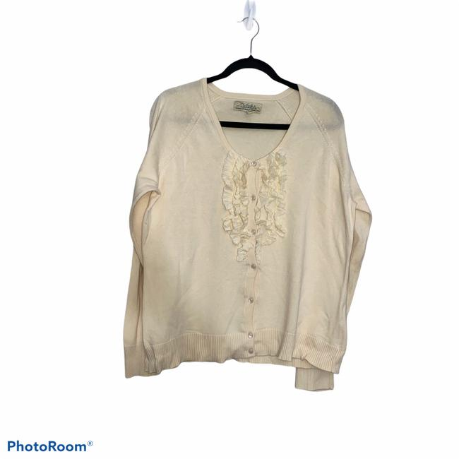 Item - Ivory Button Up Cardigan Sweater