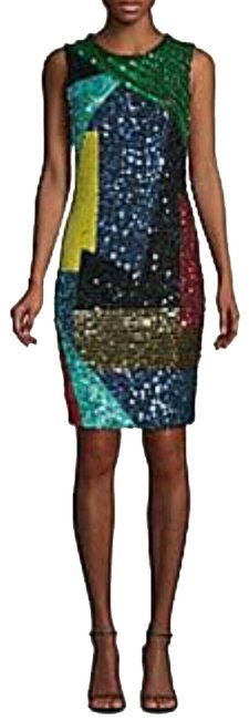 Item - Multicolor Mid-length Night Out Dress Size 0 (XS)