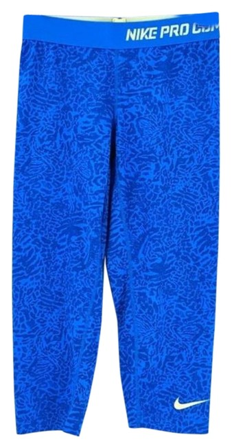 Item - Blue Yellow Pro Combat Compression Activewear Bottoms Size 6 (S, 28)