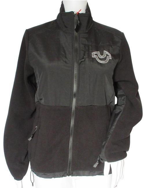 Item - Black Women's Fleece Sport Jacket Size 8 (M)