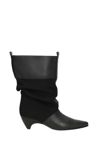 Item - Black Ankle Women Boots/Booties Size EU 39 (Approx. US 9) Regular (M, B)