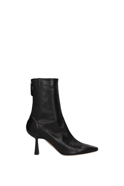 Aquazzura Black Ankle Curzon Women Boots/Booties Size EU 37.5 (Approx. US 7.5) Regular (M, B) Aquazzura Black Ankle Curzon Women Boots/Booties Size EU 37.5 (Approx. US 7.5) Regular (M, B) Image 1