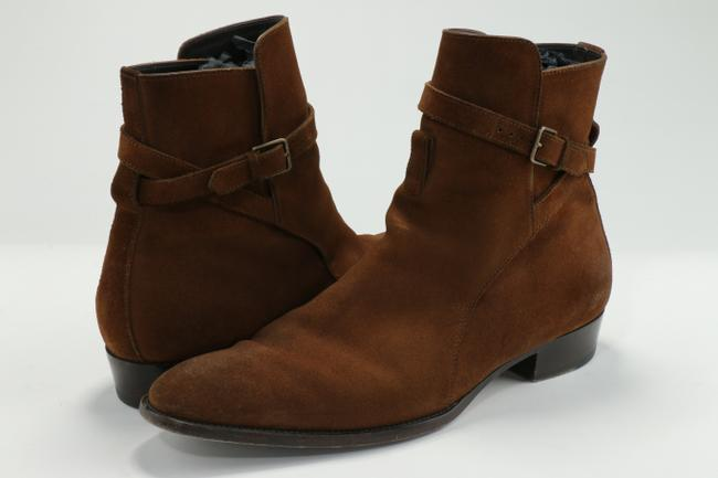 Item - Brown Wyatt Suede Ankle Boots Shoes