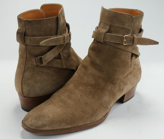 Item - Tan Blake Jodhpur Suede Ankle Boots Shoes