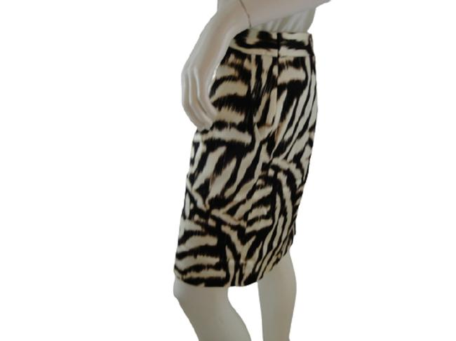 Item - Brown White Tan Animal Sku 000002 Skirt Size 10 (M, 31)