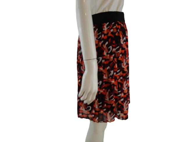 Item - Orange Burgundy Black White Multicolored Small Sku 000039 Skirt Size 4 (S, 27)