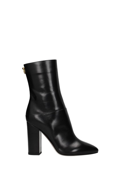 Item - Garavani Black Ankle Women Boots/Booties Size EU 37.5 (Approx. US 7.5) Regular (M, B)