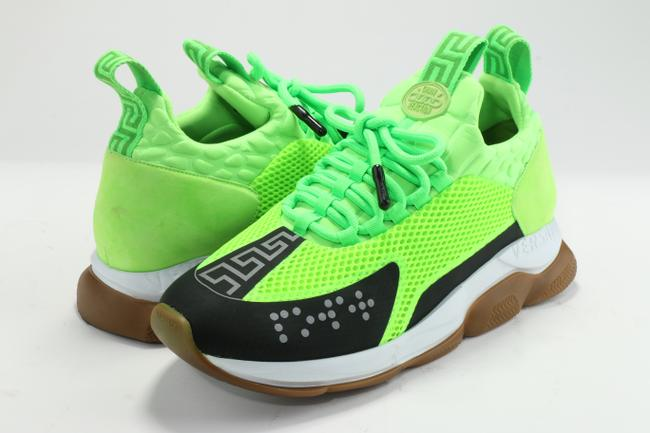 Item - Neon Green Cross Chainer 'fluo Shoes
