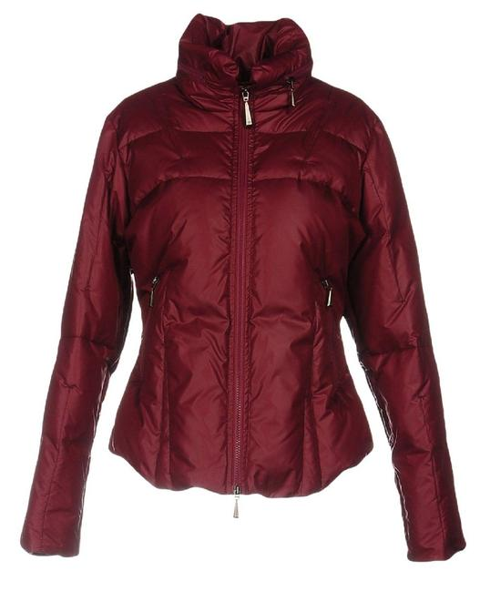 Item - Red Women's Down Jacket Coat Size 6 (S)