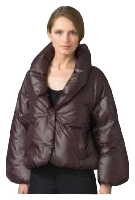 Item - Burgundy W Women's Rhyne Down Puffer Jacket New P S Coat Size Petite 6 (S)