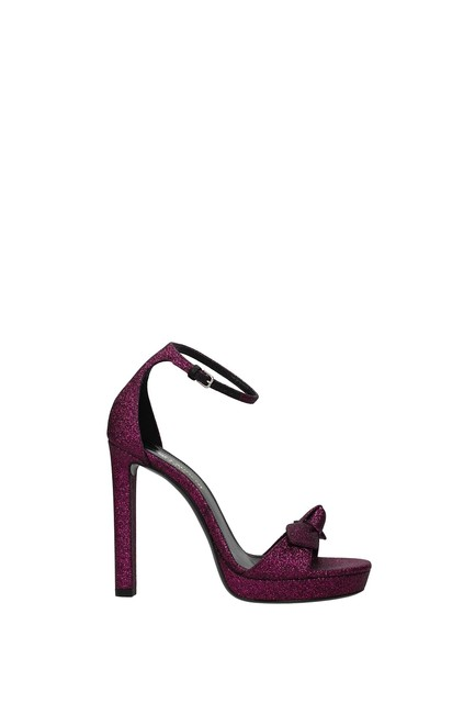 Item - Fuchsia Women Sandals Size EU 36.5 (Approx. US 6.5) Regular (M, B)