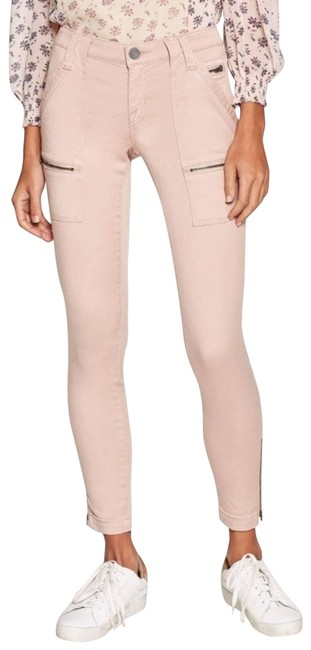 Item - Pink In Mauve with Zippers Pants Size 8 (M, 29, 30)