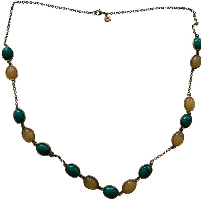 Banana Republic Green Yellow Necklace Banana Republic Green Yellow Necklace Image 1