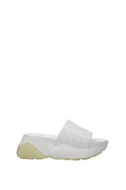 Item - White Slippers and Women Mules/Slides Size EU 38 (Approx. US 8) Regular (M, B)