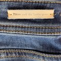 Pilcro and The Letterpress Blue Anthropologie Utility Capri/Cropped Jeans Size 26 (2, XS) Pilcro and The Letterpress Blue Anthropologie Utility Capri/Cropped Jeans Size 26 (2, XS) Image 5