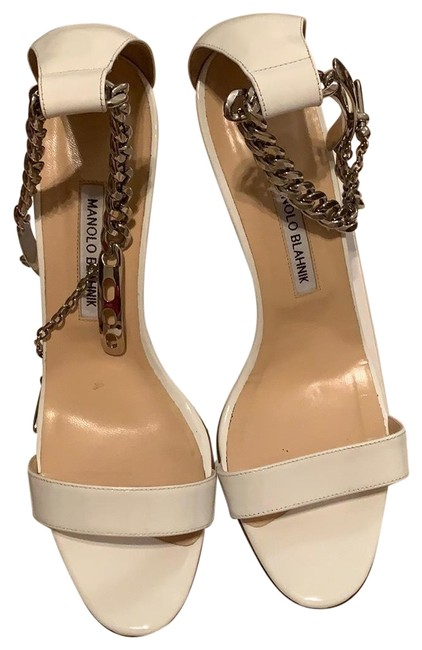 Item - White Chaos Chain Boots/Booties Size EU 40.5 (Approx. US 10.5) Regular (M, B)