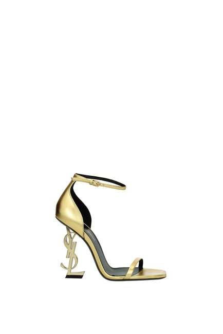 Item - Gold Opyum Woman Sandals Size EU 36.5 (Approx. US 6.5) Regular (M, B)
