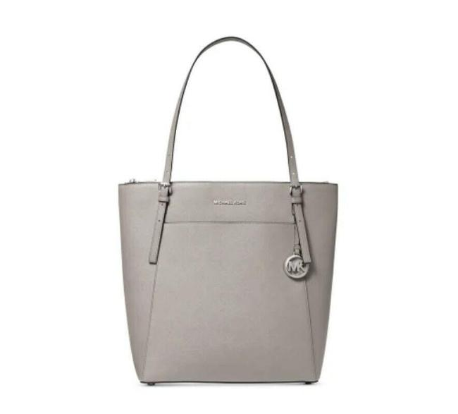 Item - Voyager Large North South Leather Tote