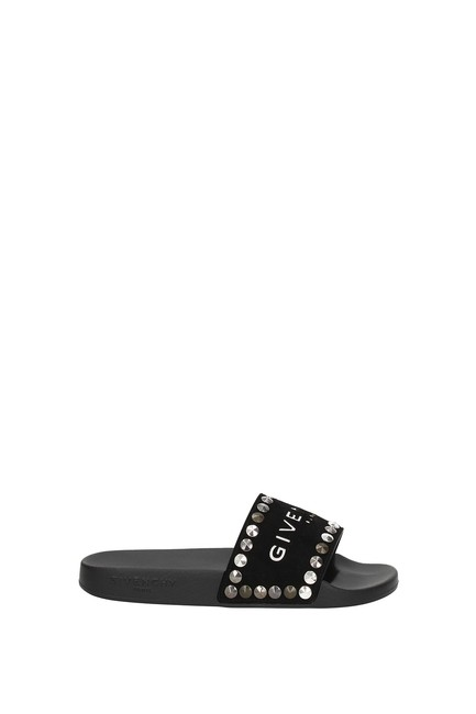 Item - Black Slippers and Women Mules/Slides Size EU 35 (Approx. US 5) Regular (M, B)