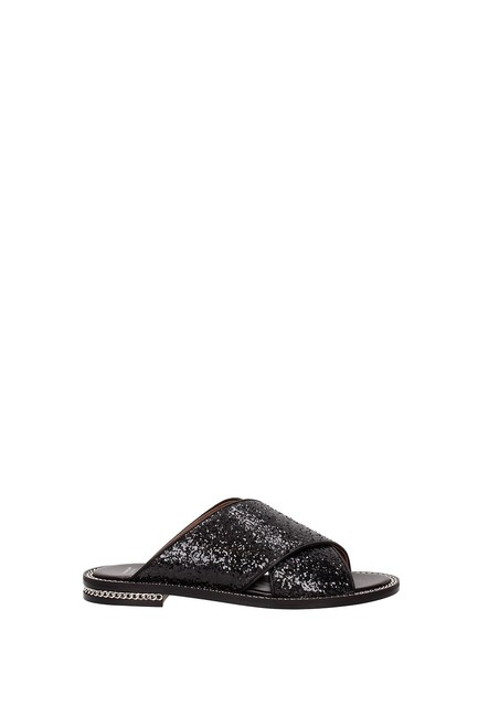 Item - Black Slippers and Women Mules/Slides Size EU 36.5 (Approx. US 6.5) Regular (M, B)