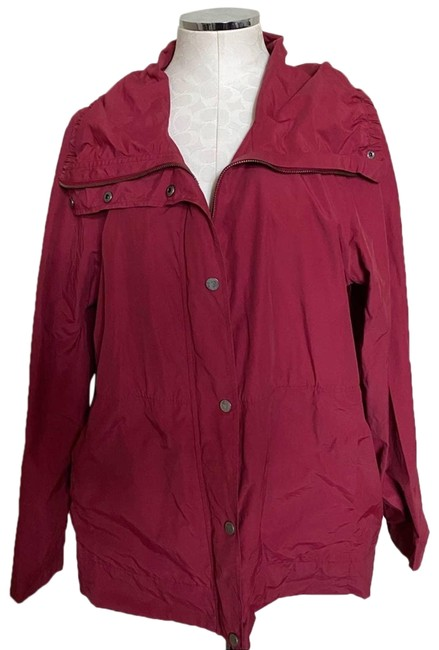Item - Red XL Lightweight Jacket Size 16 (XL, Plus 0x)