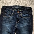 American Eagle Outfitters Blue Medium Wash Stretch Skinny Jeans Size 0 (XS, 25) American Eagle Outfitters Blue Medium Wash Stretch Skinny Jeans Size 0 (XS, 25) Image 2