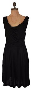 Matty M short dress BLACK Draped Stretchy on Tradesy