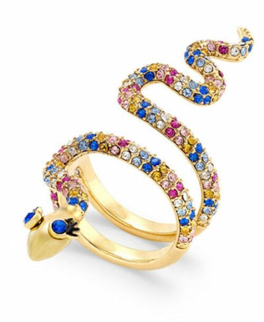 Item - 12k Gold Plated/ Multi Spice Things Up Snake Ring
