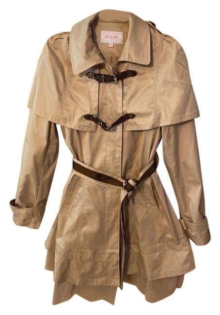 Item - Yellow Trench Coat Activewear Size 8 (M)