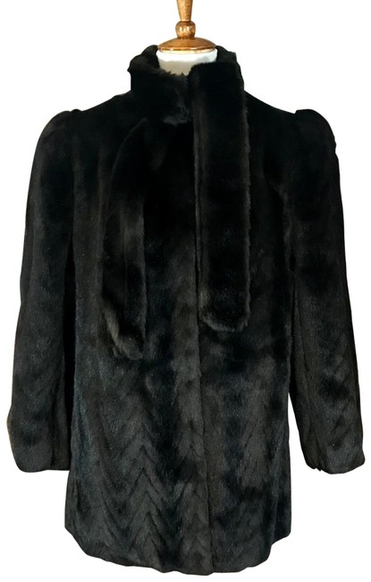 Item - Brown Circa 1970's Faux Coat Size 8 (M)