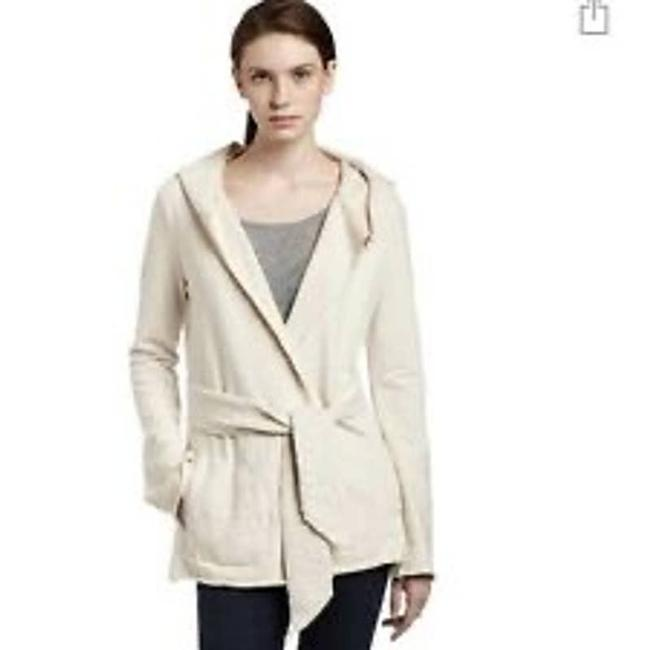 Item - Cream Jingo Wrap Open Cardigan Belt S Sweatshirt/Hoodie Size 4 (S)